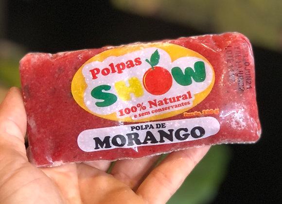 POLPA DE MORANGO - 100% NATURAL - 100G
