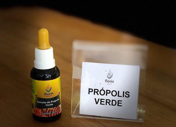 EXTRATO DE PRÓPOLIS - 30ml - VERDE