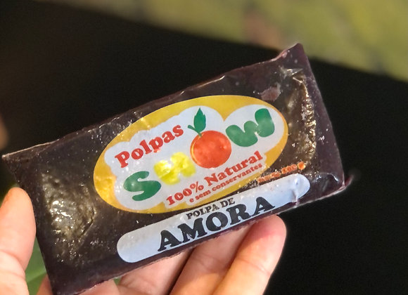 POLPA DE AMORA - 100% NATURAL - 100G