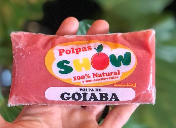 POLPA DE GOIABA - 100% NATURAL - 100G