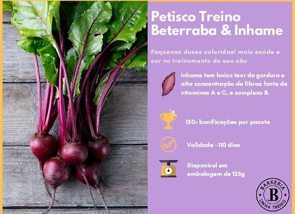 PETISCO TREINO DE BETERRABA E INHAME - 125G
