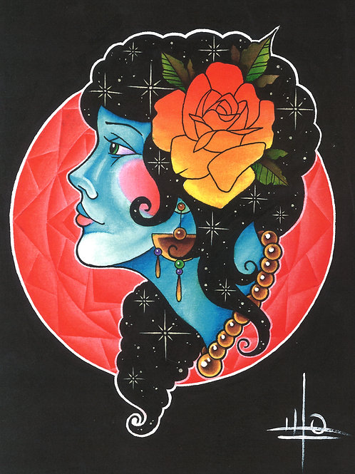Lady of the Cosmos Print