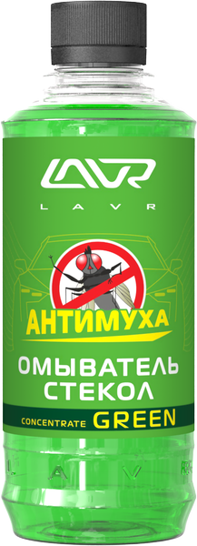 Омыватель стекол LAVR Glass Washer Anti Fly Concentrate Green/Ln1221
