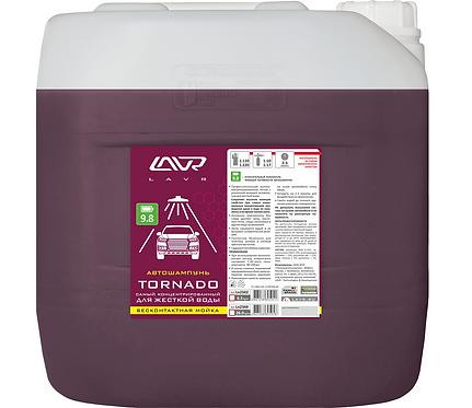 Автошампунь для жесткой воды Auto Shampoo Tornado 25 кг/Ln2344