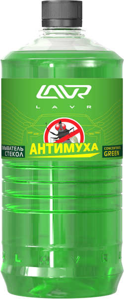 Омыватель стекол LAVR Glass Washer Anti Fly Concentrate Green/Ln1222