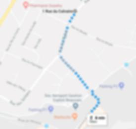 BL Parking Aéroport Beauvais-Tillé - Plan d'Accès