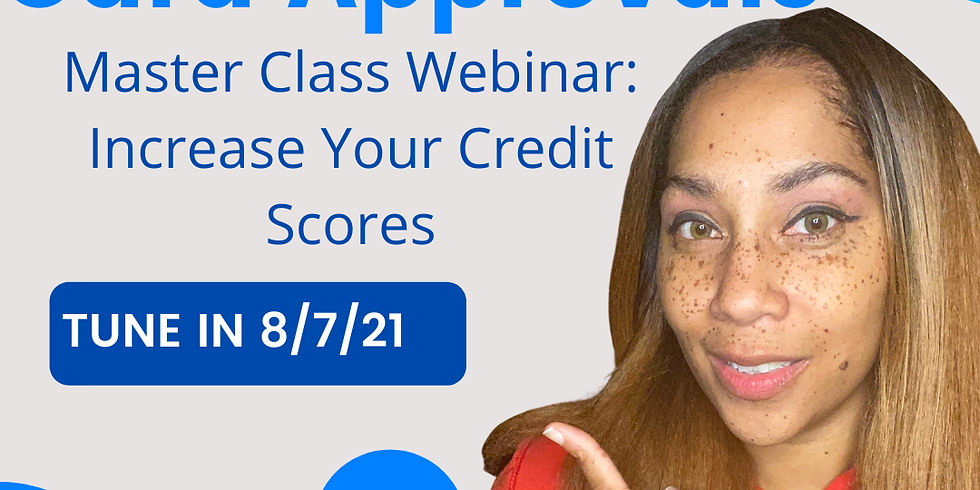 Increase Your Scores FAST- Credit Card Approvals (Bad Credit Welcomed)