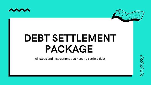 Debt Settlement Package