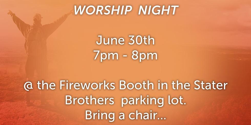 Worship Night @ The Booth
