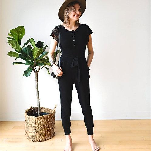 Jumpsuit noir / Black Jumpsuit