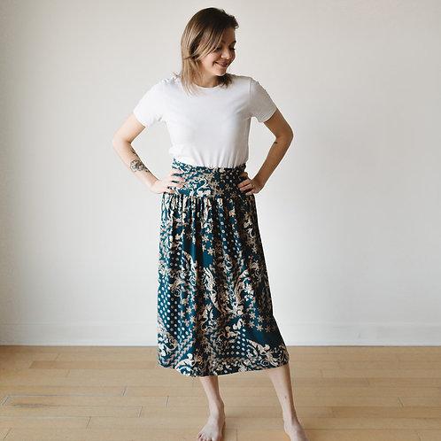 Jupe midi bohème / Bohemian midi skirt