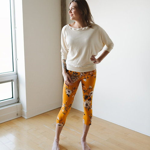 Leggings orange brûlé / Orange leggings