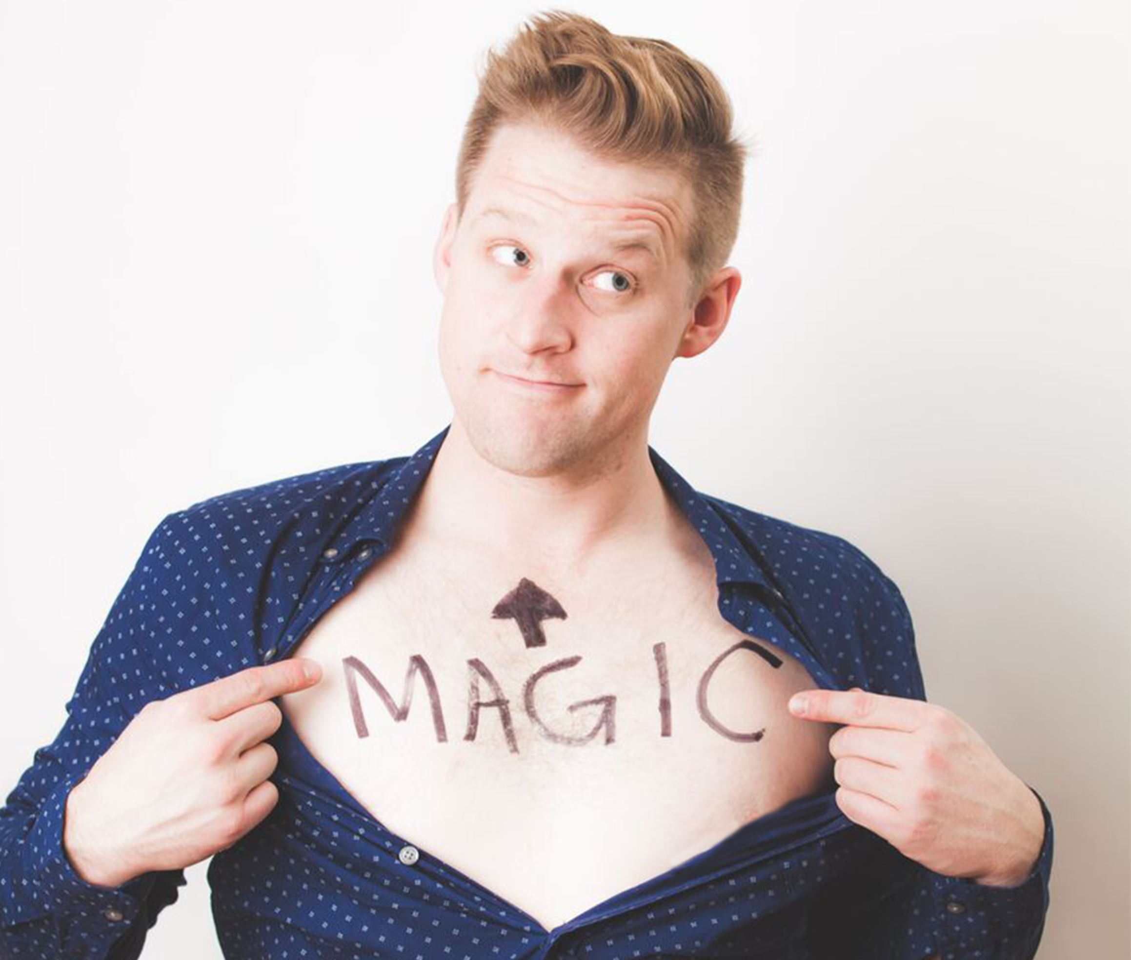 Wes Barker magician and comedian