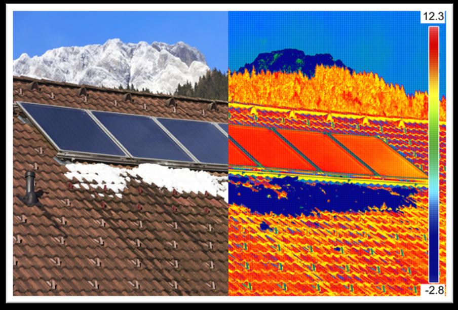 solar panel infrared