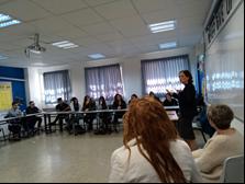 מפגש עם חברת הכנסת רחל עזריה