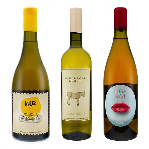 დეგუსთეითი - თეთრი ღვინის ნაკრები