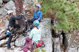 Womens Trad Climbing Course