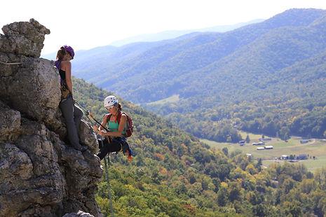 Women's Multi-Pitch Climbing Clincs