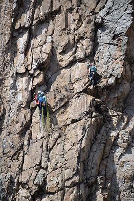 Multi-pitch Trad climbing for women Seneca Rocks, WV