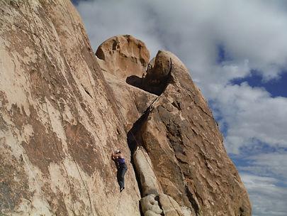 Joshua Tree Womens Rock Climbing Courses