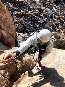 Joshua Tree Womens Climbing Guides