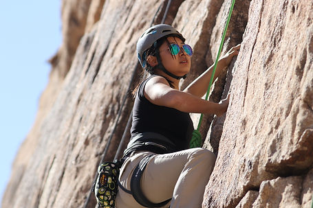 Leaning Trad Fundamental, Intro To Trad Climbing, Women's Climbing Instruction