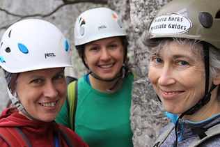 Womens Rock Climbing