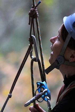 Self-rescue, climbing techniques, women's climbing programs