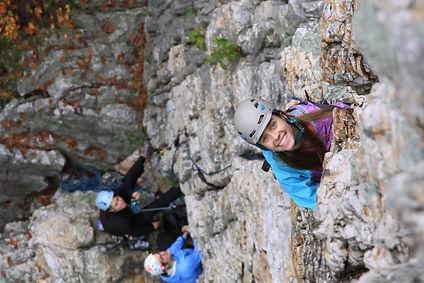 Kelly Fields Womens Climbing