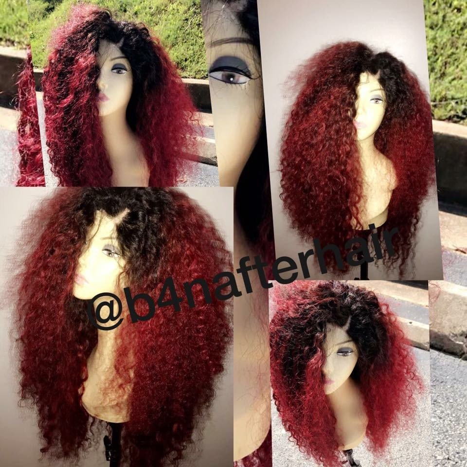 Custom Wig-Curly