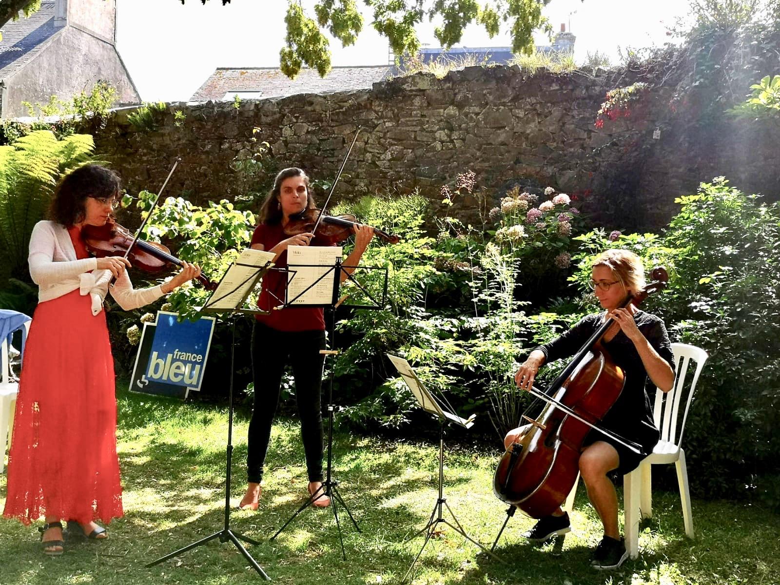 Aubade musicale Jardin Exotique St Vaast