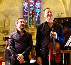 Avec le pianiste David Saudubray