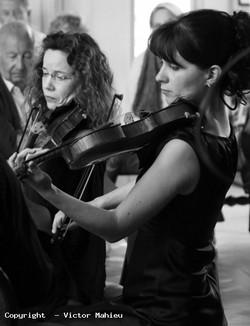 Concert du 21 août 2014, Les Pianos Folies, Hélène Collerette et Cécile Agator