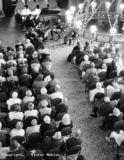 Concert du 21 août 2014, Les Pianos Folies, Salons de l'Hôtel de Ville