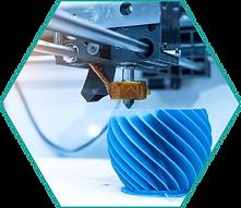 3D printer completes an aesthetically pleasing print job