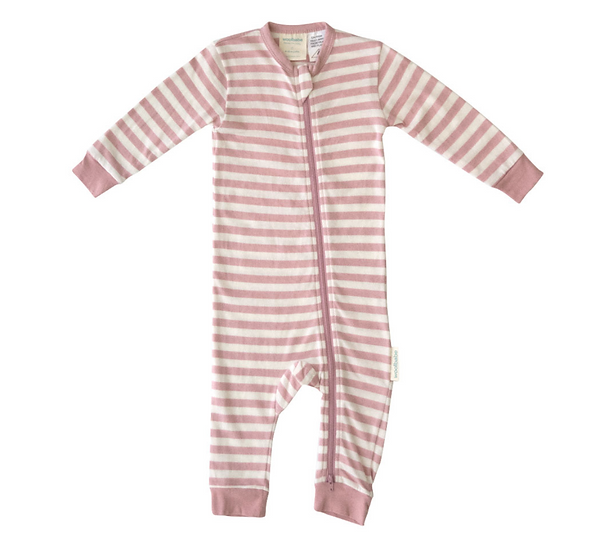 Woolbabe Merino/Organic Cotton Pyjama Suit - Dusk