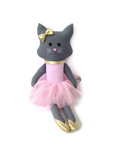Rumi & Tilba Indy Cat (Pink Spot & Gold)