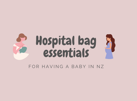 Hospital bag essentials for having a baby in NZ