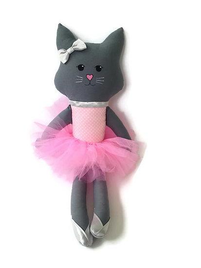 Rumi & Tilba Indy Cat (Pink Spot & Silver)