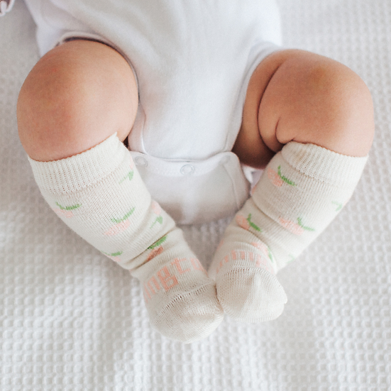 Lamington Merino Knee High Socks - Rosie