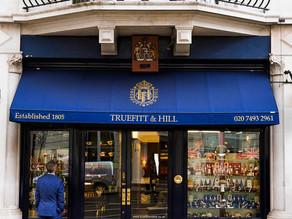"""HIDDEN LONDON [7] """"A Cut Above """" TRUEFITT & HILL, the oldest barber shop in the world."""