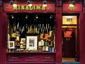"""HIDDEN LONDON [10] Are you a fan of the Harry Potter films? You cannot miss """"The House of Mina Lima"""""""