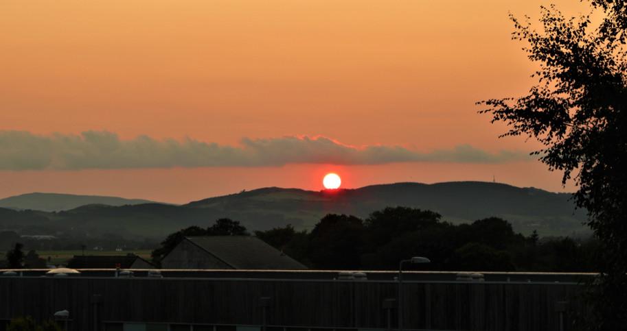 Sunset at the Crichton
