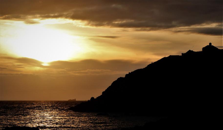 Sunset at Portpatrick