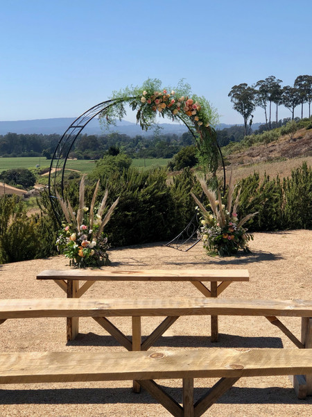 Ceremony Space with Ocean View