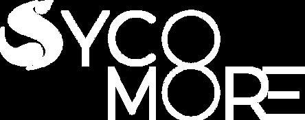 Sycomore Biogaz_Logo Sycomore blanc