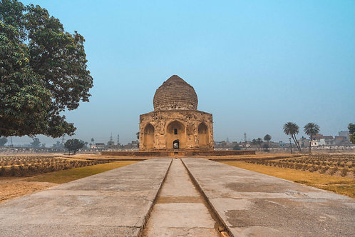The Tomb of Asif Khan