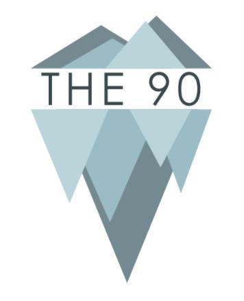 The 90 Logo