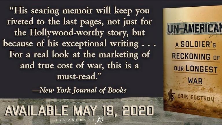 An Un-American Book Launch, with Erik Edstrom