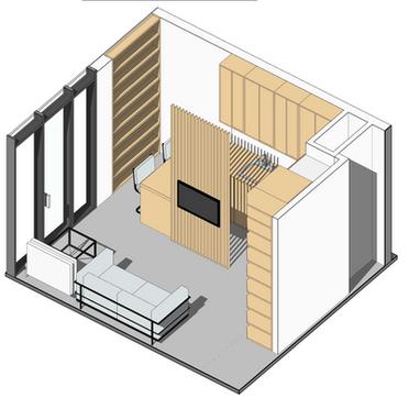 Rozdělění bytu, 2019, Trnava